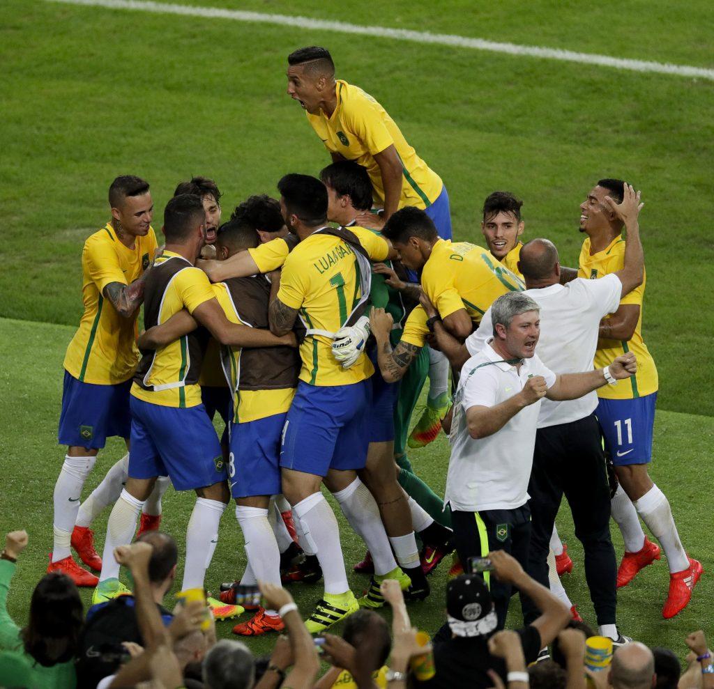 RIO DE JANEIRO - 20/08/2016 - FUTEBOL - ESTÁDIO DO MARACANÃ - Brasil x Alemanha, na disputa pela medalha de ouro, nos Jogos Rio 2016. Foto: Washington Alves/Exemplus/COB