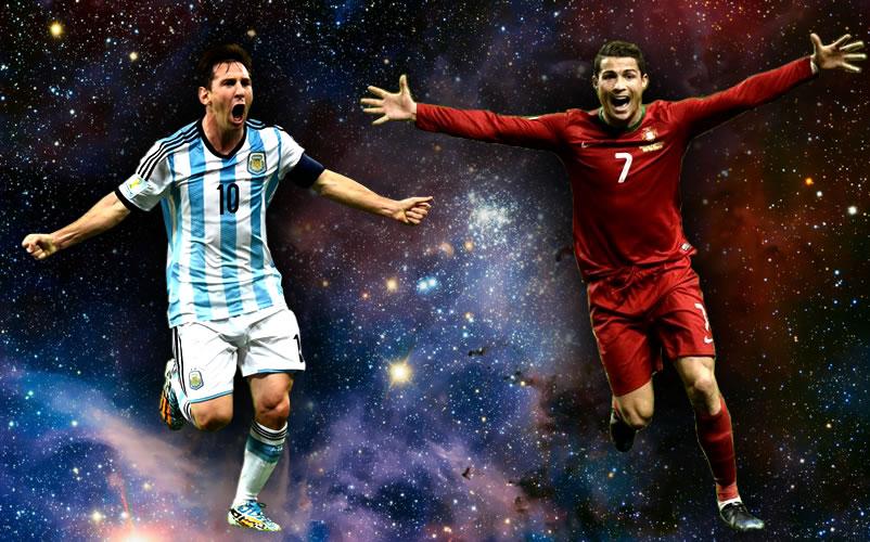 messi e cr7 - Messi & Cristiano